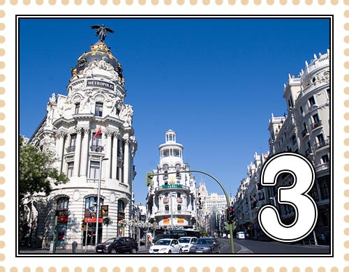 Мадрид. Улица Гран-Виа