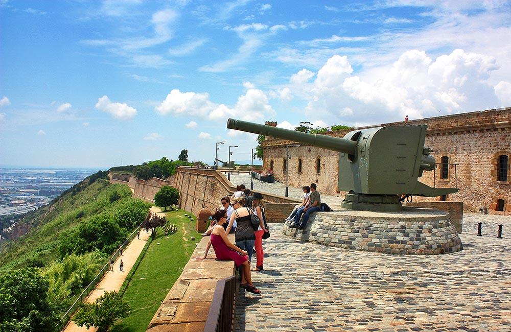 Артиллерийская батарея бастиона Святого Карла