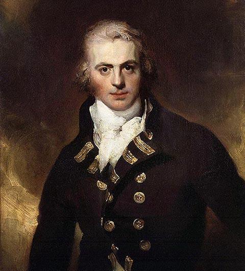 Командующий английской эскадрой Грэм Мур
