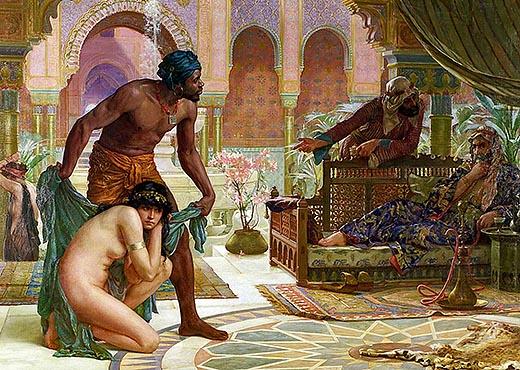 Эрнест Норманд «Горький вкус рабства». 1885, холст, масло