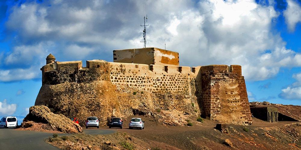 Крепость Санта-Барбара, Лансароте
