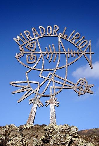 Эмблема смотровой площадки Мирадор-дель-Рио