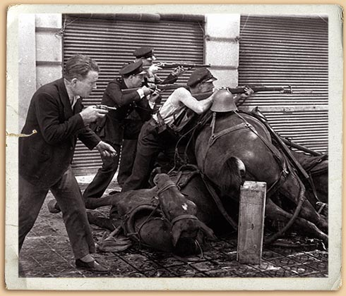 Гражданская война в Испании. Барселона, июль 1936 г.