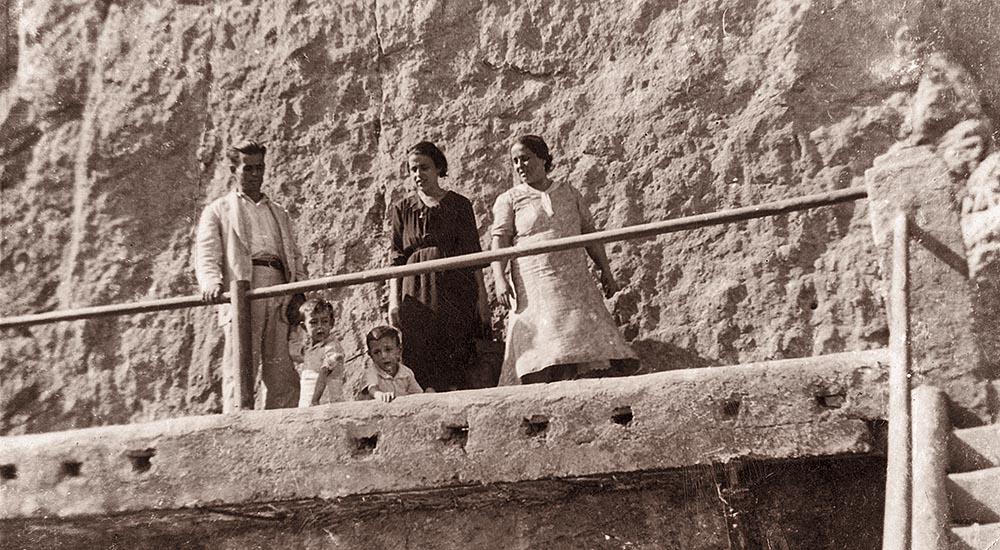 Местные жители на Королевской тропе. 30-е годы XX века
