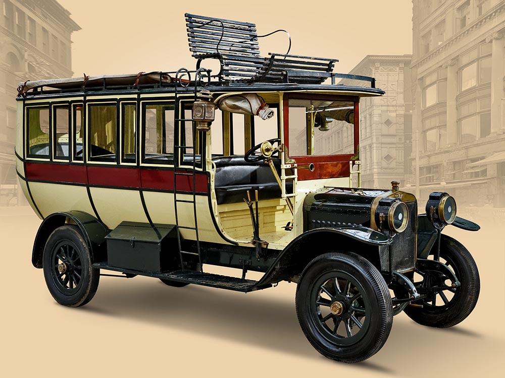 Hispano-Suiza 15/20HP Omnibus. 1915 г.
