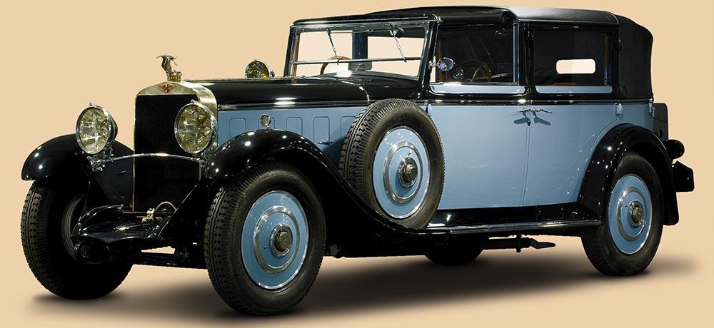 Hispano-Suiza H6 Coupe-Chauffeur Landaulet от Chapron. 1922 г.