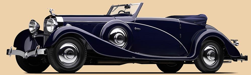 Hispano-Suiza J12 Cabriolet от Vanvooren. 1935 г.