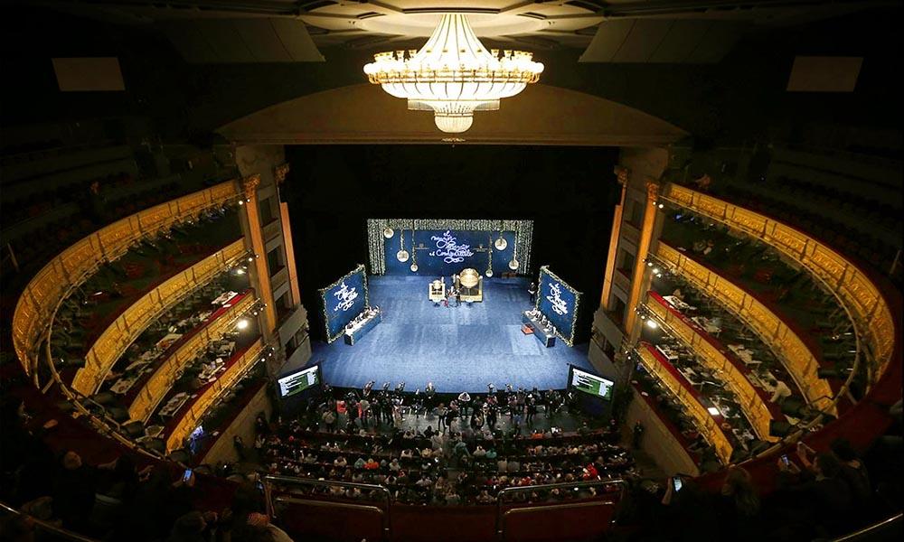 Испания. Розыгрыш Рождественской лотереи 2015