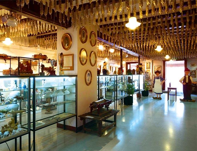 Музей колбасы в Кастельфольит-де-ла-Рока