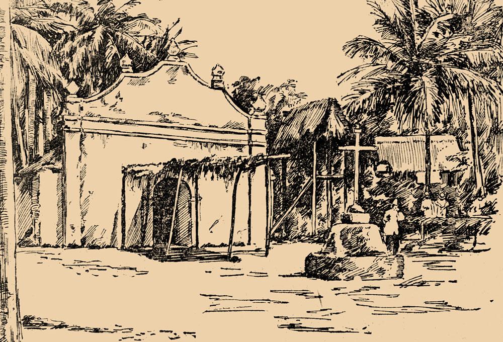 Церковь в Сан-Луис-де-Арпа, остров Гуам