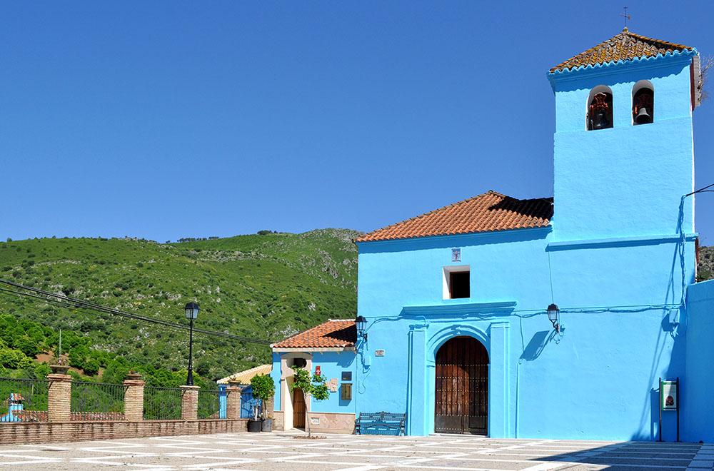 Церковь Санта Каталина в деревне Хускар