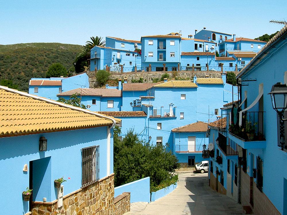 Деревня Хускар, Андалусия, Испания